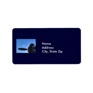 Dreaming of Blue Skies Address Label