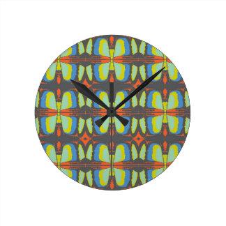 Dreaming of Butterflies Clock