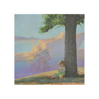 Dreaming of Camelot by Steve Berger Wood Wall Art