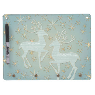Dreaming of Christmas Dry Erase Board With Keychain Holder