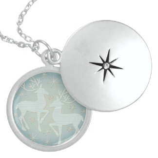 Dreaming of Christmas Locket Necklace