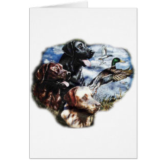 Dreaming of Duck Hunting Greeting Card