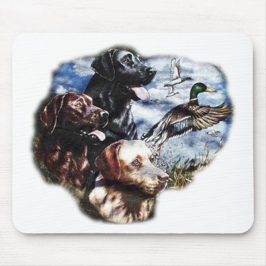 Dreaming of Duck Hunting Mouse Pad
