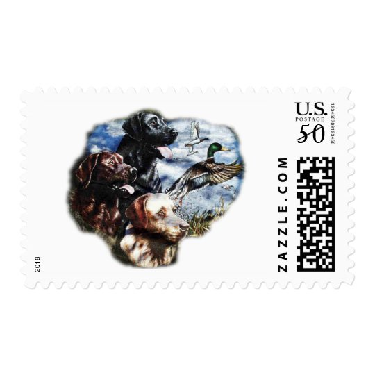 Dreaming of Duck Hunting Postage