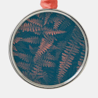 Dreaming Of Ferns Metal Ornament