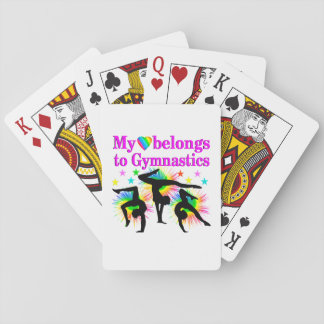 DREAMING OF GYMNASTICS PLAYING CARDS
