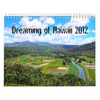 Dreaming of Hawaii Calendar