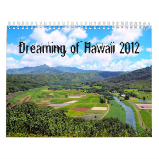 Dreaming of Hawaii Calendar