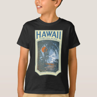 Dreaming of Hawaii Kid's dark short sleeve T-Shirt
