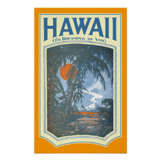 Dreaming of Hawaii Poster