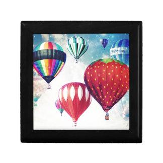 Dreaming of Hot Air Balloons Keepsake Box