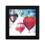 Dreaming of Hot Air Balloons Trinket Box