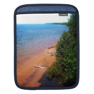 Dreaming of Lake Michigan iPad Sleeves