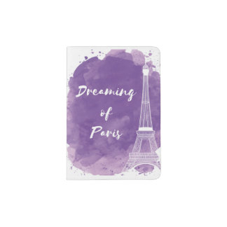 Dreaming of Paris - Passport holder