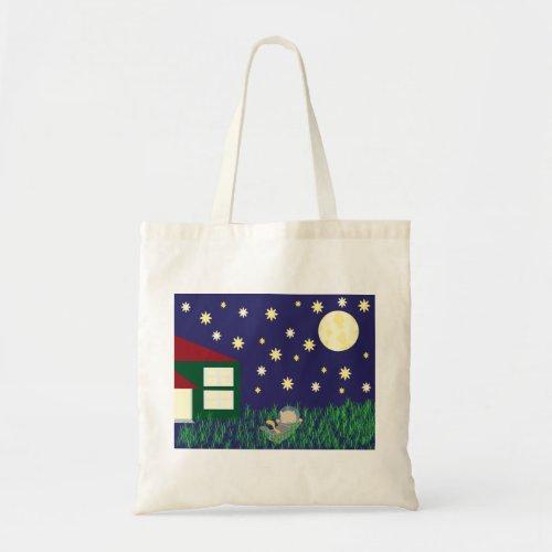 Dreaming of Space Cat Bag