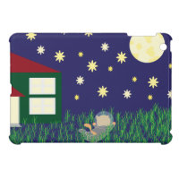 Dreaming of Space Cat iPad Mini Cover