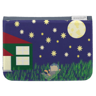 Dreaming of Space Cat Kindle Case