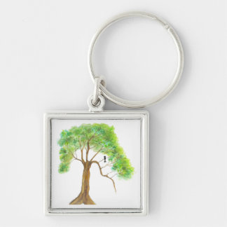 Dreaming Of Spring From Original Artwork Key Chain