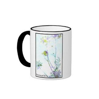 Dreaming of Spring Ringer Coffee Mug