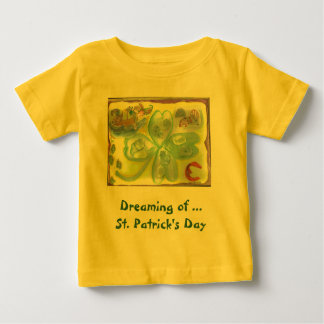 Dreaming of St. Patrick's Day Baby T-Shirt