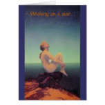 """...dreaming of you"" Maxfield Parrish card"