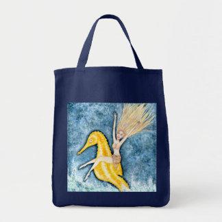 Dreaming on Aquamarine Tides - Tote Bag