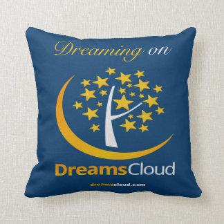 Dreaming on DreamsCloud Throw Pillow