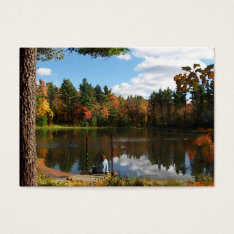 Dreaming on the Dock ATC Business Card at Zazzle