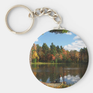 Dreaming on the Dock Keychain
