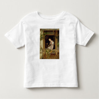 Dreaming on the windowsill toddler t-shirt