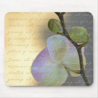 Dreaming Orchid Mouse Pad