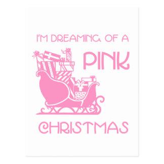 Dreaming Pink - Postcard