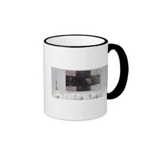 Dreaming Pollock Ringer Mug