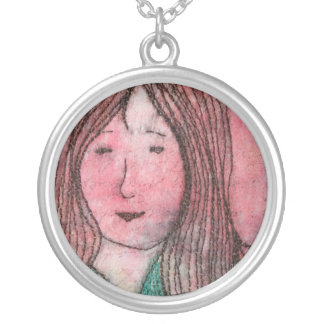 Dreaming Round Pendant Necklace