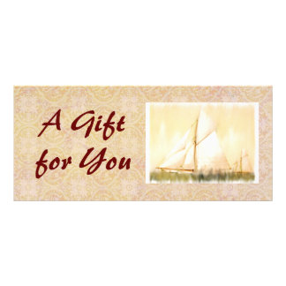 Dreaming Sails Gift Certificate template