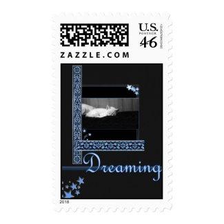 Dreaming - stars stamp