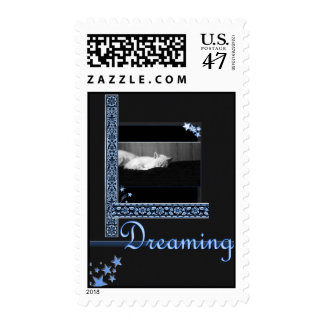 Dreaming - stars postage