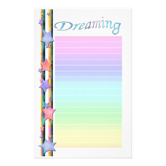 Dreaming Stationery