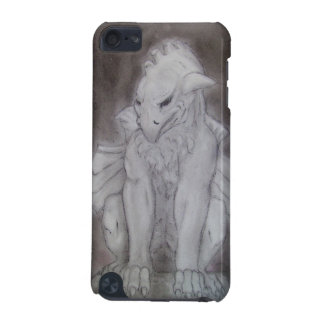 Dreaming stone gargoyle original drawing iPod touch (5th generation) case