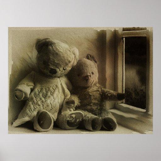 Dreaming Teddy Bears Poster
