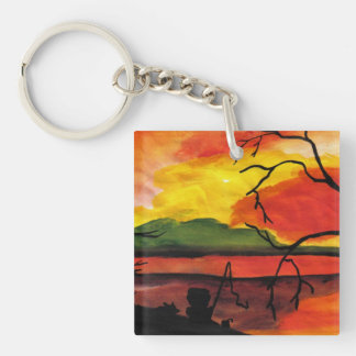 Dreaming The Day Keychains