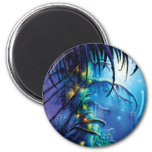 Dreaming Tree 2 Inch Round Magnet