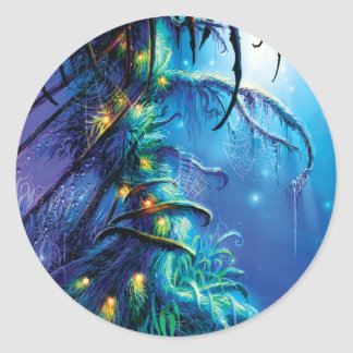 Dreaming Tree Classic Round Sticker