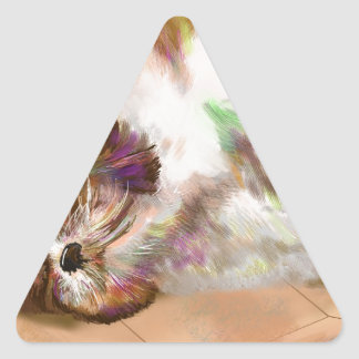 Dreaming Triangle Sticker