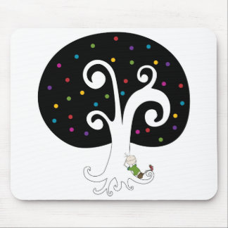 Dreaming Under The Tree Mouse Pad