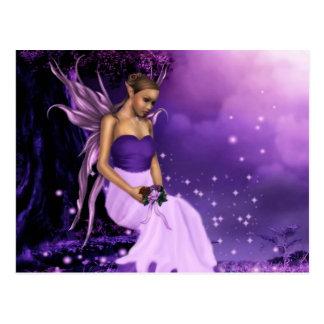 Dreaming Violet Postcard
