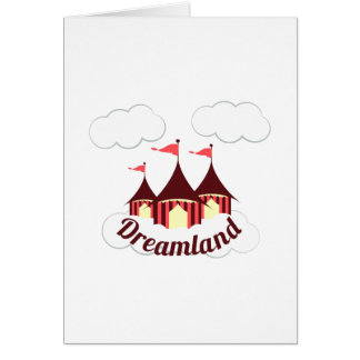 Dreamland Circus Card