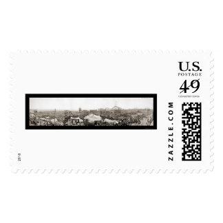 Dreamland Destruction Photo 1911 Postage Stamp
