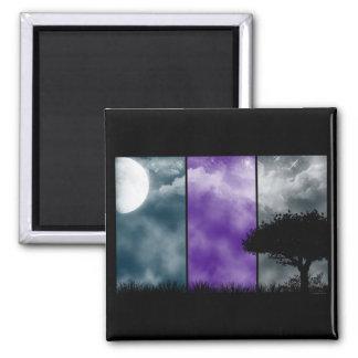 Dreamland Twilight 2 Inch Square Magnet