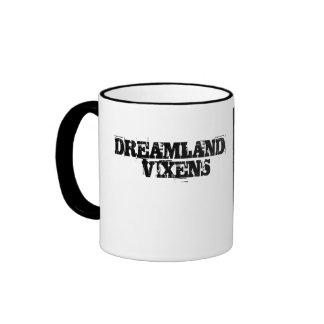 DREAMLAND VIXEN Sid Sinner COFFEE CUP Ringer Coffee Mug
